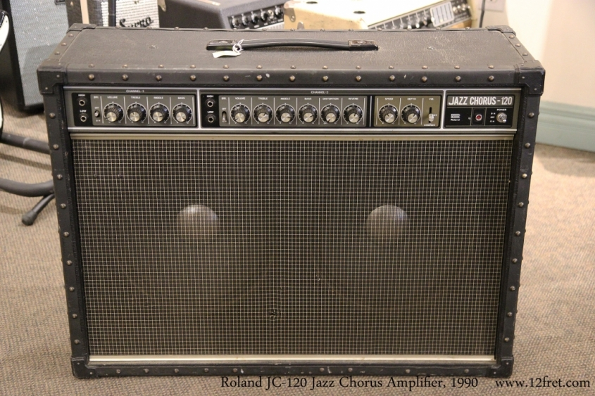 Roland JC-120 Jazz Chorus Amplifier, 1990   Full Front View