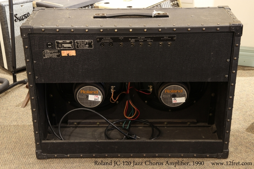 Roland JC-120 Jazz Chorus Amplifier, 1990   Full Rear View