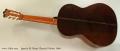 Ignacio M. Rozas Classical Guitar, 1994 Full Rear View