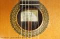 Ignacio M. Rozas Classical Guitar, 1994 Label