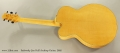 Sadowsky Jim Hall Archtop Guitar, 2005 Full Rear View