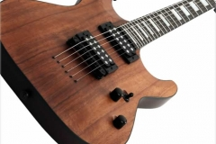 Schecter C-1 Koa Electric Guitar - Full