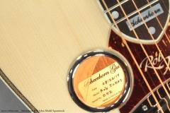Scheerhorn Rob Ickes Model Squareneck Label View
