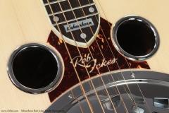 Scheerhorn Rob Ickes Model Squareneck Top Detail View