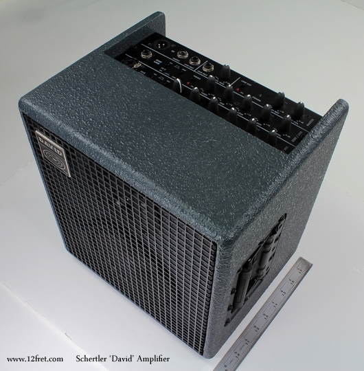 Schertler David Amplifiers top view
