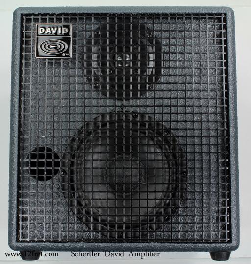 Schertler David Amplifiers front view