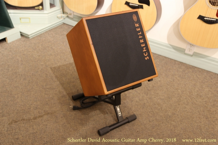 Schertler David Acoustic Guitar Amp Cherry, 2018   Front View