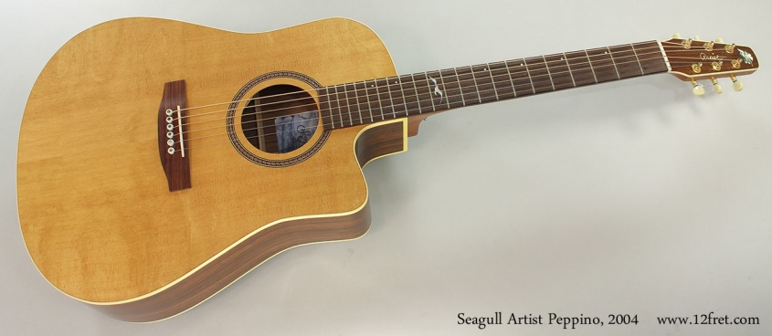 Seagull Artist Peppino, 2004 Full Front View
