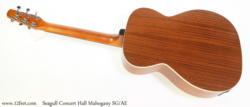 Seagull Concert Hall Mahogany SG/AE Full Rear View