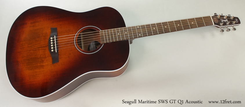 Seagull Maritime SWS GT Q1 Acoustic Full Front View
