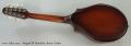 Seagull S8 Mandolin, Burnt Umber Full Rear View