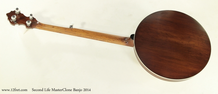 Second Life MasterClone Banjo 2014  Full Rear View