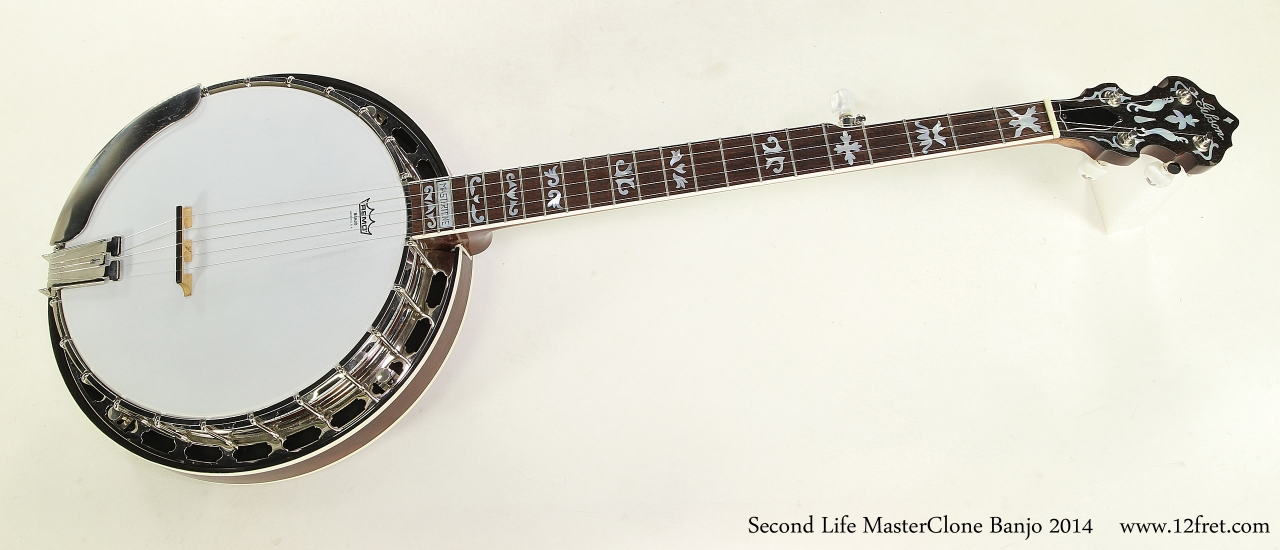 Second Life MasterClone Banjo 2014  Full Front View