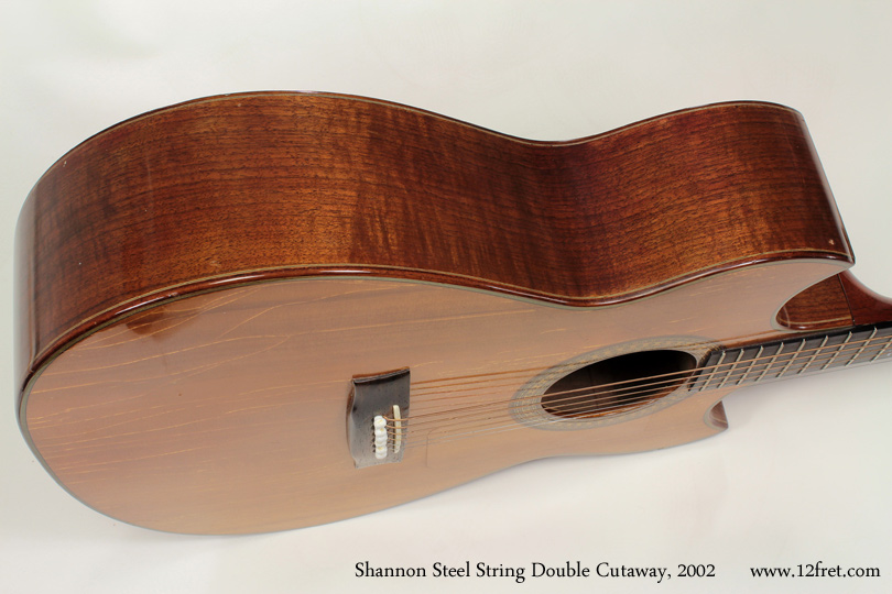 Shannon Double Cutaway Acoustic 2002 side