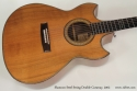 Shannon Double Cutaway Acoustic 2002 top