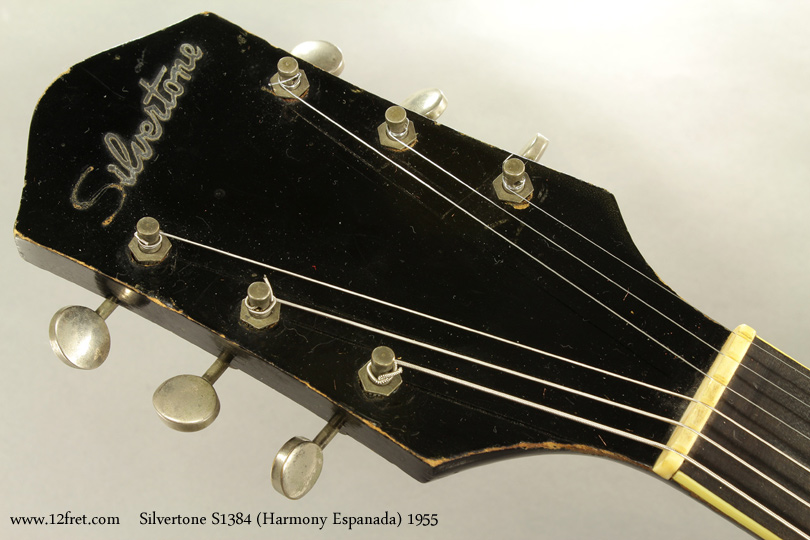 Silvertone S1384 Archtop 1955 head front