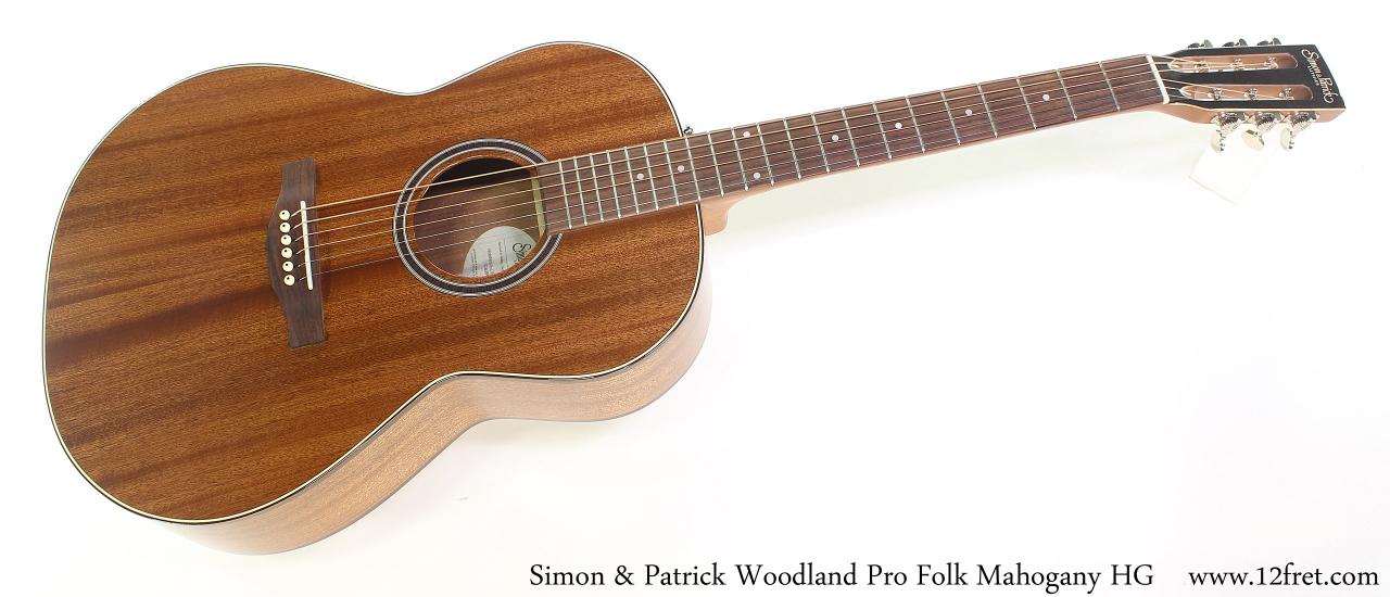 Simon & Patrick Woodland Pro Folk Mahogany HG Full Front View