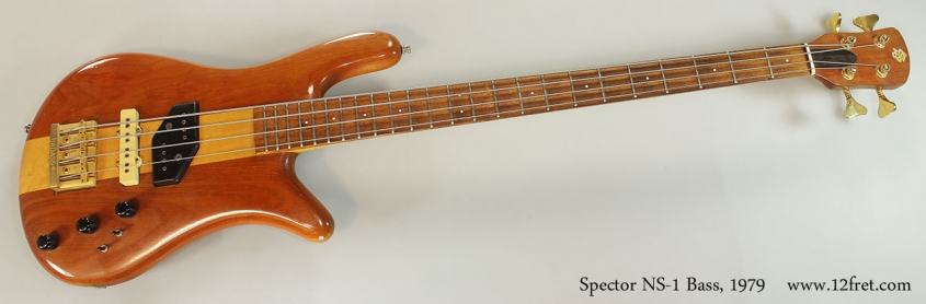 Spector NS-1 Bass, 1979 Full Front View