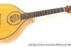 Jack Spira Cittern Australian Blackwood, 2005 Full Front View