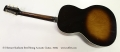 S S Stewart Sunburst Steel String Acoustic Guitar, 1930s Full Rear View