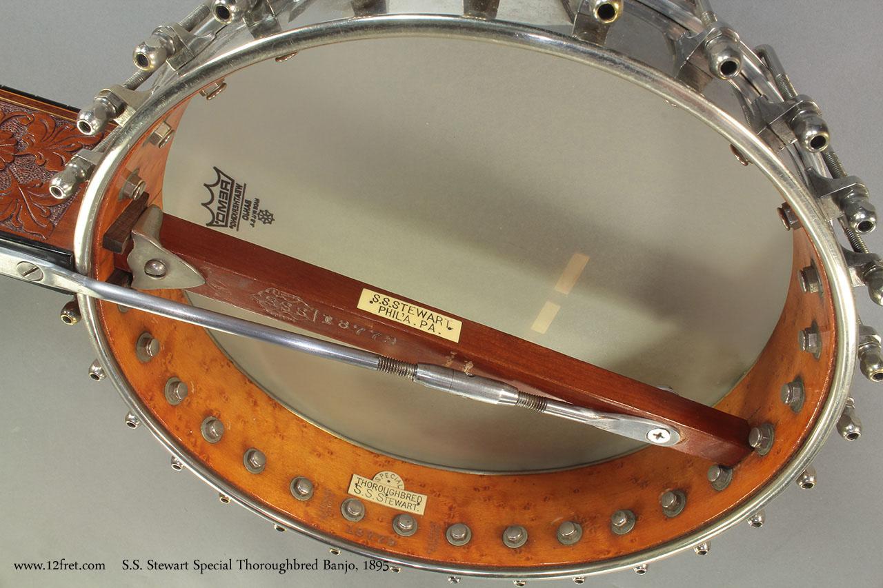 S.S. Stewart Special Thoroughbred Banjo 1895 back 1