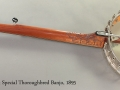 S.S. Stewart Special Thoroughbred Banjo 1895 full rear view