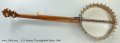 S. S. Stewart Thoroughbred Banjo, 1900 Full Rear View