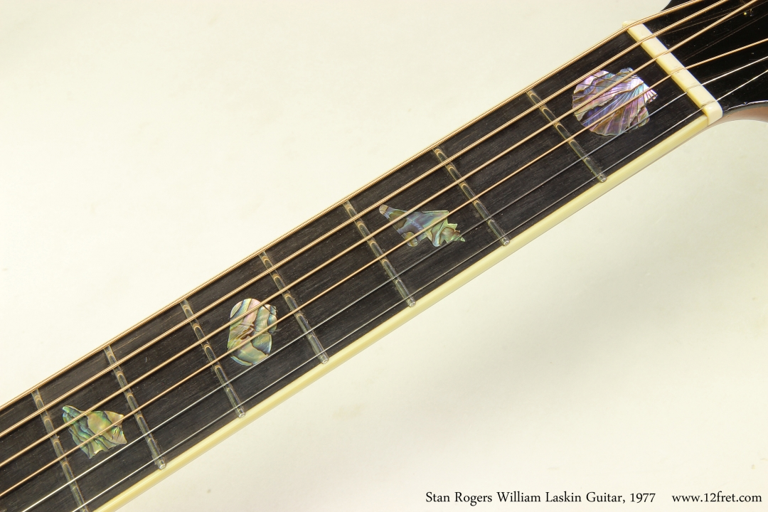 Stan Rogers William Laskin Guitar, 1977  Fingerboard Inlay Set