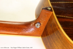 Stan Rogers William Laskin Guitar, 1977  Heel Bass Side View