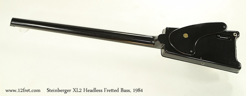 Steinberger XL2 Headless Fretted Bass, 1984 Full Rear View