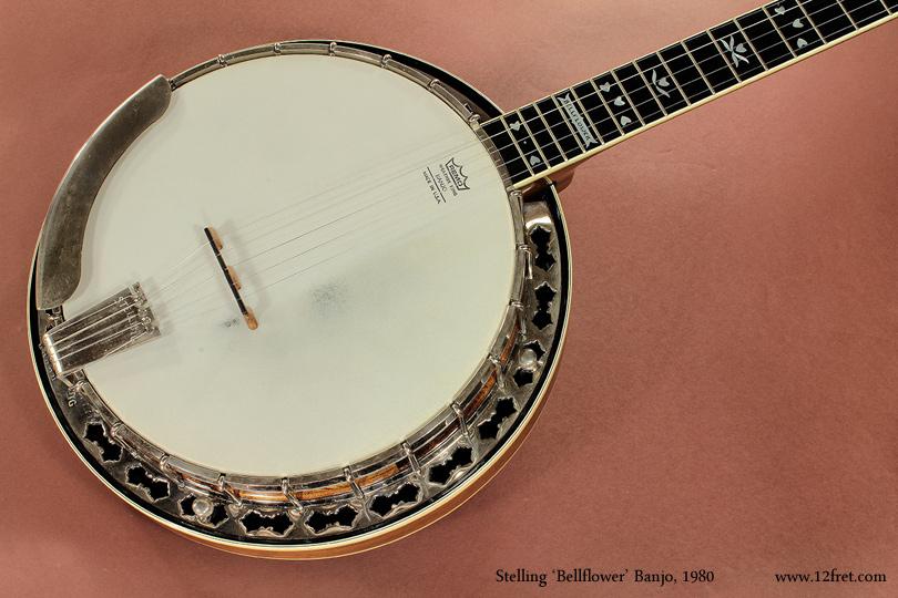 Stelling Bellflower Banjo 1980 top