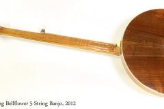 Stelling Bellflower 5-String Banjo, 2012 Full Rear View
