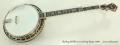 Stelling Bellflower 5-String Banjo, 1997 Full Front View
