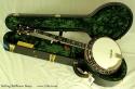 Stelling Bellflower 5-String Banjo  Case Open 2