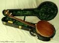 Stelling Bellflower 5-String Banjo Case Open Back View