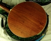 Stelling Bellflower 5-String Banjo  Resonator Back