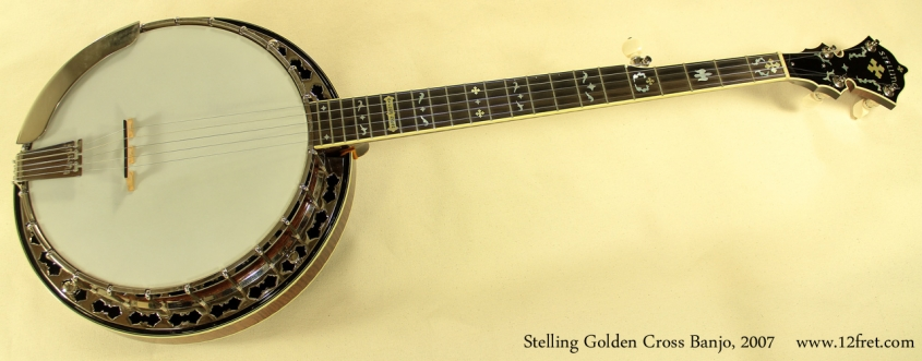 Stelling Golden Cross Banjo 2007 full front view