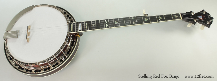 Stelling Red Fox Banjo, 2015 Full Front View