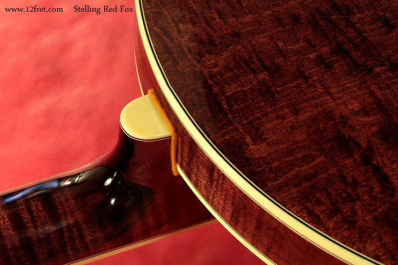 Stelling Red Fox Banjo heel