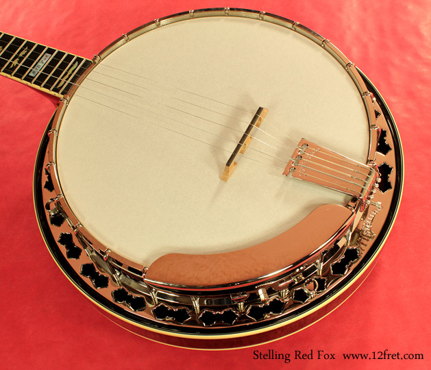 Stelling Red Fox Banjo top driver\'s side