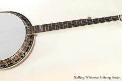 Stelling Whitestar 5-String Banjo, 1983  Full Front View