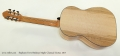 Stephane Ferre Birdseye Maple Classical Guitar, 2017 Full Rear View