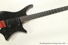 Strandberg Boden 6 String Guitar, 2016  Full Front View