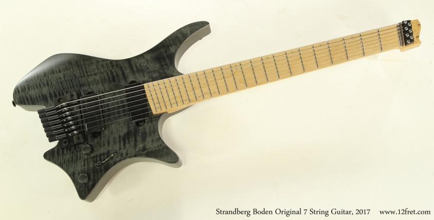 Strandberg Boden Original 7 String Guitar, 2017  Full Front View