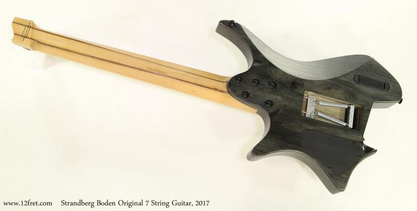 Strandberg Boden Original 7 String Guitar, 2017  Full Rear View