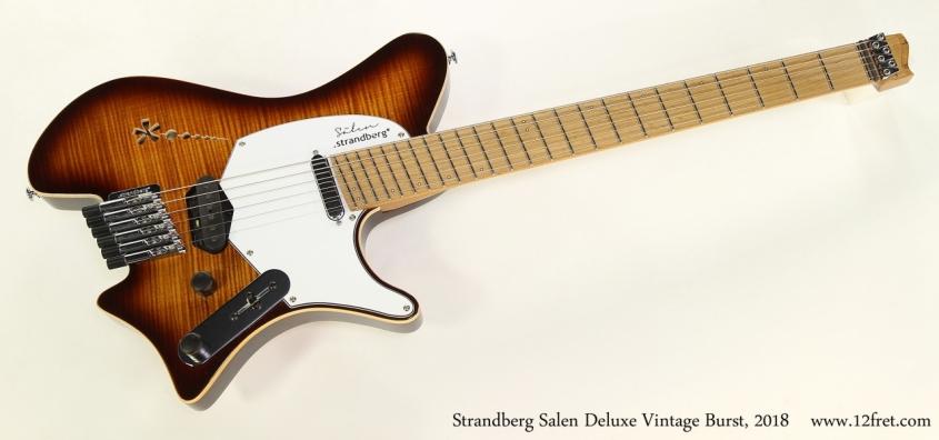 Strandberg Salen Deluxe Vintage Burst, 2018  Full Front View