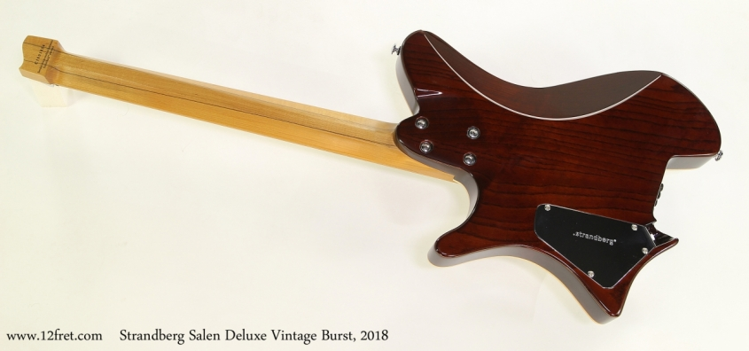 Strandberg Salen Deluxe Vintage Burst, 2018  Full Rear View