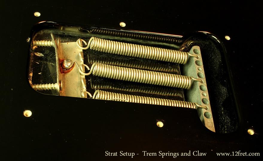 The Twelfth Fret Repair Shop: Setting up a Strat Trem, Part