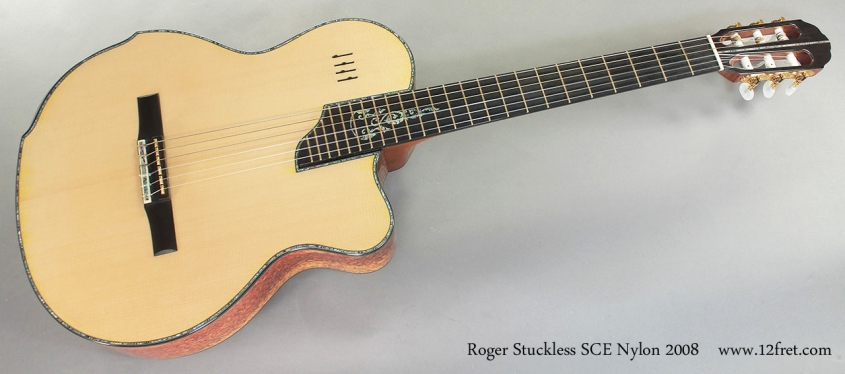 Roger Stuckless SCE Nylon 2008 full front view