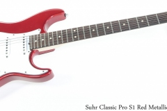 Suhr Classic Pro S1 Red Metallic,  2008 Full Front View